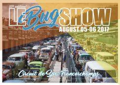 Le VW Bug Show 2017 @ pin Karte verbergen Francorchamps Circuit fan