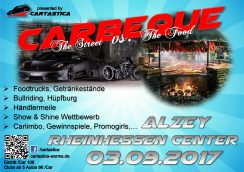 Carbeque - the Street vs. the Food (by Cartastica) @ Rheinhessen Center Alzey