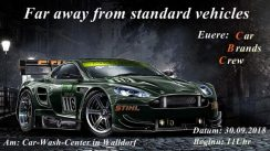 Far away from standard vehicles